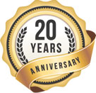20th Anniversary Seal